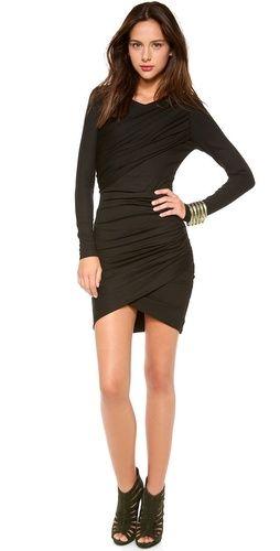 Torn by Ronny Kobo Emma Long Sleeve Dress | SHOPBOP