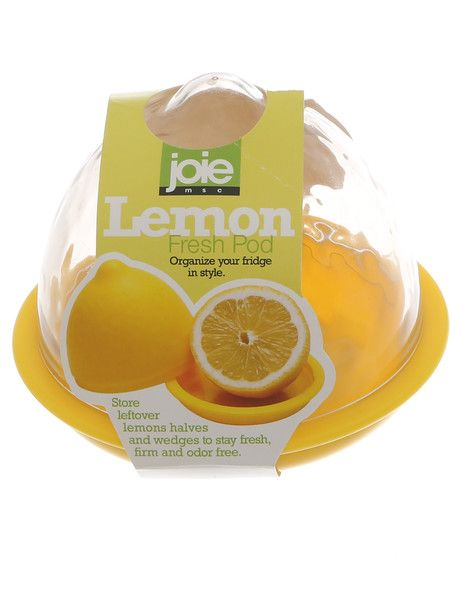 Organise your fridge in style, using the Lemon Fresh Pod from the Joie range. Lemon halves and wedges will remain fresh, firm and odour-free in this attractive container, which features a clear lid.