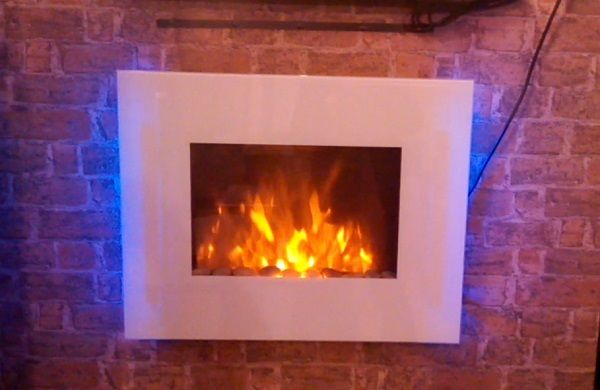 Wall Mounted Arched Electric Fires