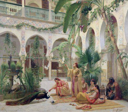 The Algerian women at the Ottoman era