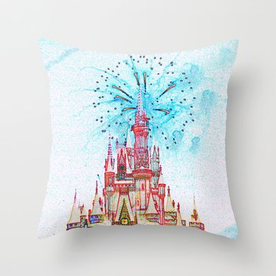 Disney  Throw Pillow by EFD_ - $20.00