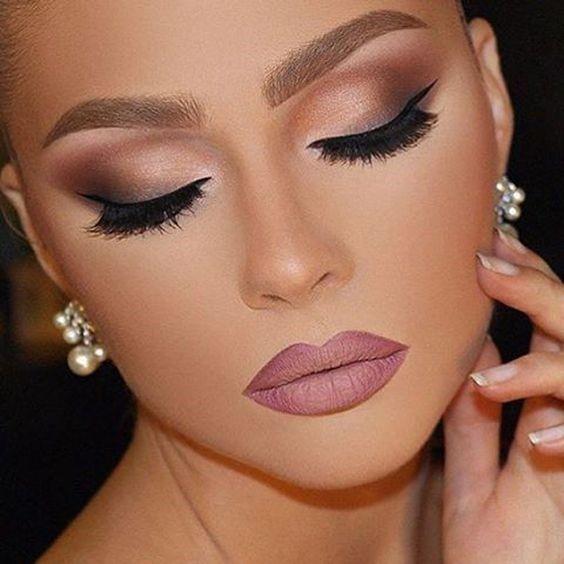 VEM VER >>> 65+ Ideias de Maquiagem de Noiva #Maquiagem #Novia #Makeup #Bride | Ideias de maquiagem, Maquiagem de noiva