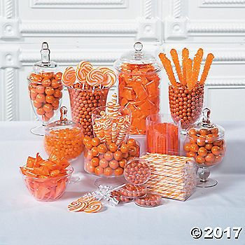 Add a punch of color to the candy buffet at your wedding reception with our wide selection of orange candy and treats. Orange wedding decorations and party ...