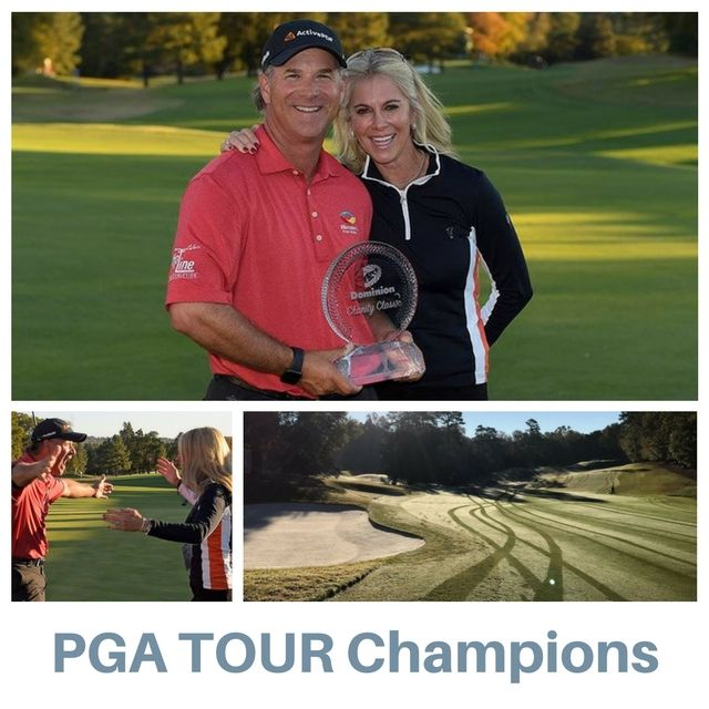 Congratulations to Scott McCarron on winning the 2016 Dominion Charity Classic.