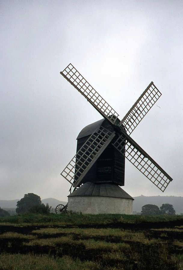 Original 35mm Slide Windmill Pitstone Green, Buckinghamshire Oct 1968 | eBay