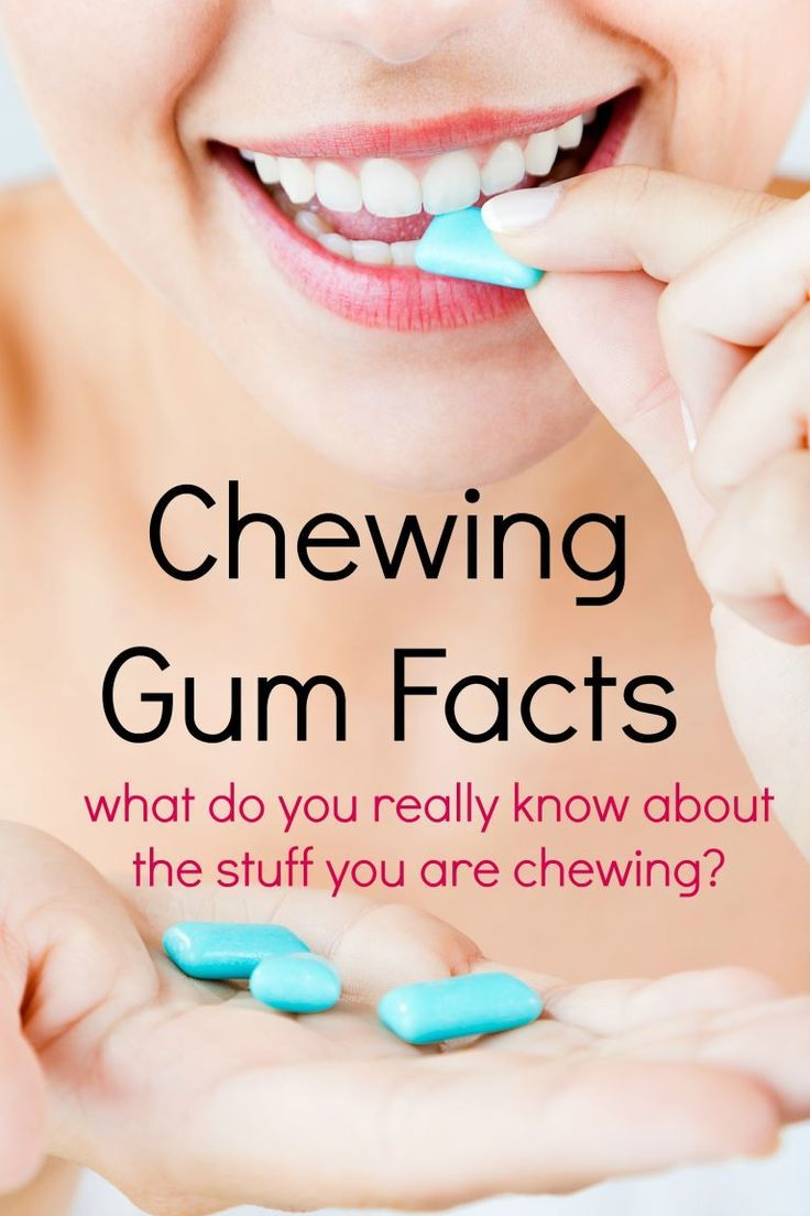 Is chewing gum really unhealthy for you?