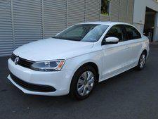Used 2014 Volkswagen Jetta SE White Sedan ONLY---$17,950