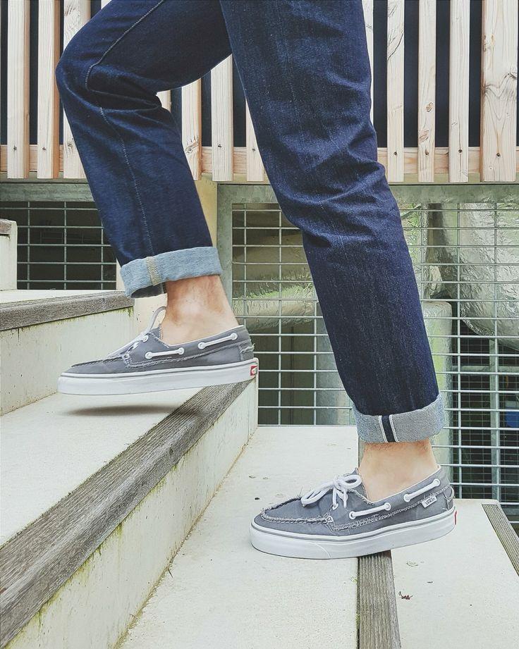 Vans - Zapato del barco #vans #men #selvedge #uniqlo