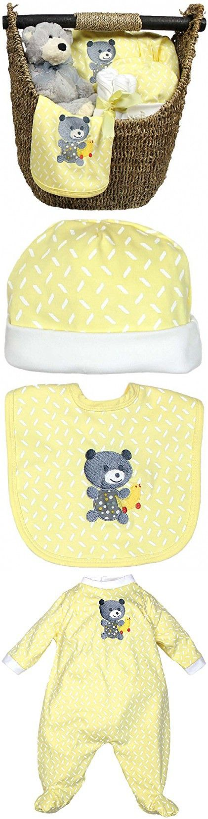 Raindrops Welcome Home 9-Piece Gift Set, Yellow, 3-6 Months