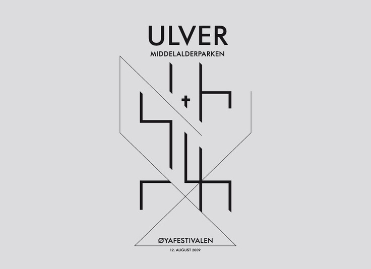 great design for Ulver made by http://www.league.ch/