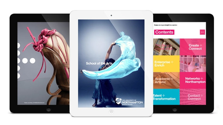 School of the Arts iPad App