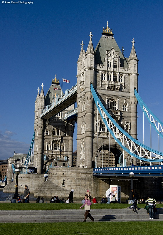 Tower Bridge, an impressive view from London.