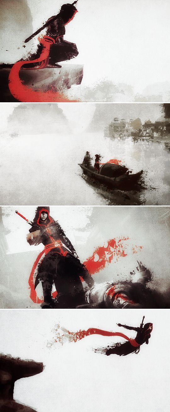 Assassin's Creed Chronicles China |2015| /Climax Studios [] #artwork #platformer #action_adventure #stealth