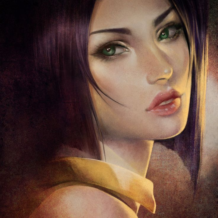 Cowboy Bebop: Faye Valentine. Realism. by Shilesque on DeviantArt