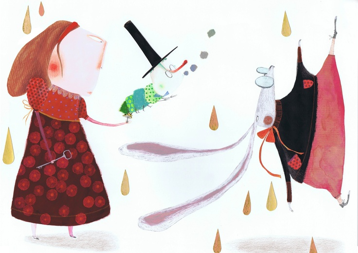 illustration for Alice in Wonderland -Marta Torrão
