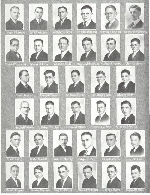 """Literary Society Alpha Nu School Annual 1923 Coe College, Cedar Rapids Iowa, from Joe Bott Serendipitous Literary societies were a feature of most American Colleges and Universities in the 19th century. They served to enhance the liberal arts programs of their schools through discussions on contemporary topics, hosting speakers, and maintaining libraries. Philomathean among most common names chosen for a Society. Philomathean derived from the Greek philomath, means """"a lover of learning""""."""
