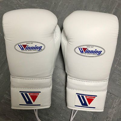 Winning #boxing - 16oz - #white - professional sparring #gloves - grant reyes, View more on the LINK: http://www.zeppy.io/product/gb/2/131727170987/