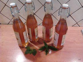 Pohodová kuchyně....: Meduňkový a mátový sirup