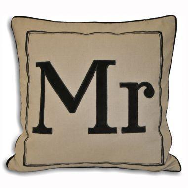 Mr Cushion - £12 | brandinteriors.co.uk
