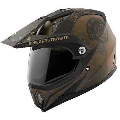 #apparel Speed & Strength SS2500 Fame and Fortune Dual Sport Helmet please retweet