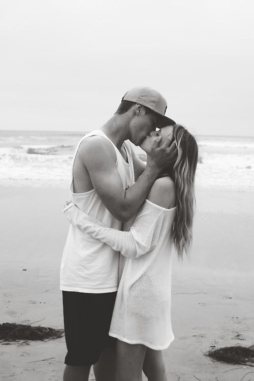 beach kisses