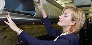 New flight attendant training