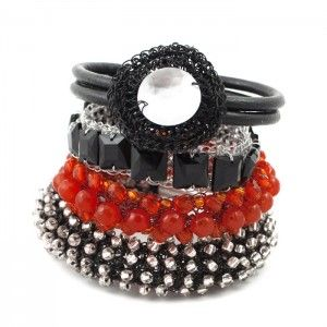 Orange HERSTORY Bangles Set
