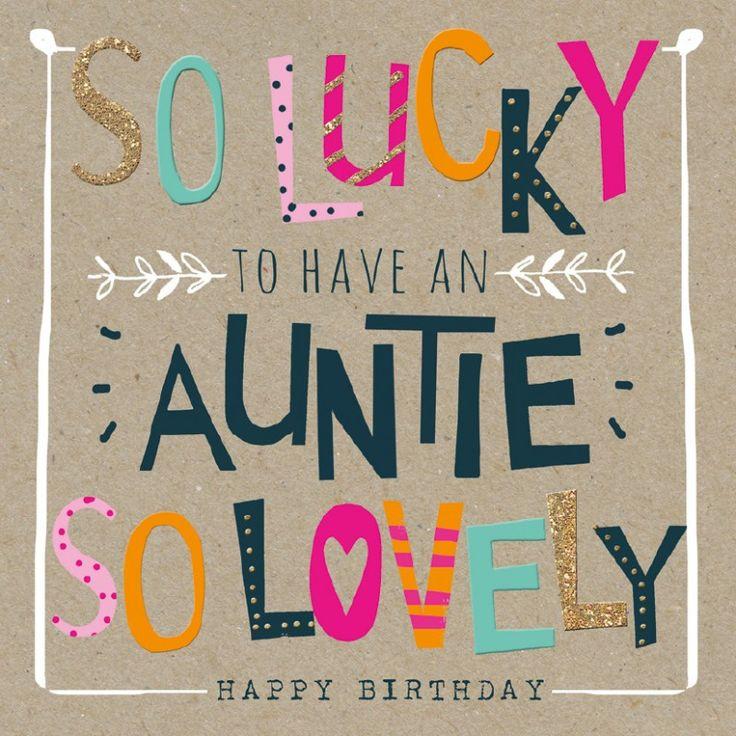Birthday Auntie