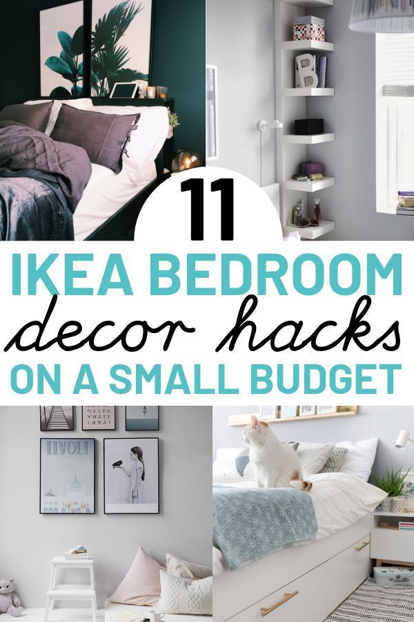 Diy Vintage Home Decor 11 Ikea Hacks For Bedroom These Ikea Hacks Are Great For Anyone On A Budget Look In 2020 Ikea Bedroom Decor Ikea Bedroom Ikea Bedroom Furniture