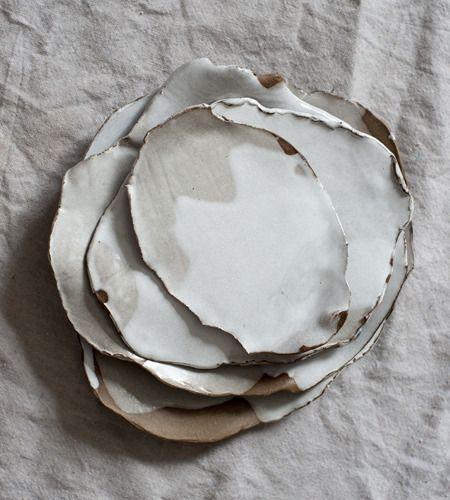 MONDAYS — White on White on Brown Tapas Plates