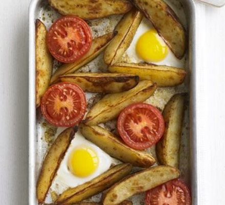 This deliciously simple meal can all be prepared in one pan for minimum washing-up