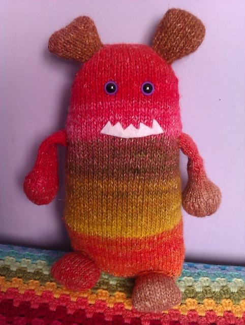 Ravelry: Gotta Love Me Monster pattern by Kimberly Kwon