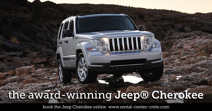 Book the Award-Winning #Jeep Cherokee for your next vacation in #Crete Island  ▶  http://www.rental-center-crete.com/cars/group-j/jeep-cherokee.html  #crete #holidays #vacation #jeep #cherokee #suv #rental