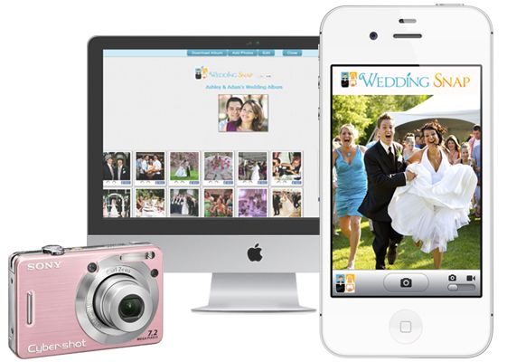 Wedding Snap App That Guests Can Download At Your Then Use To Upload Any