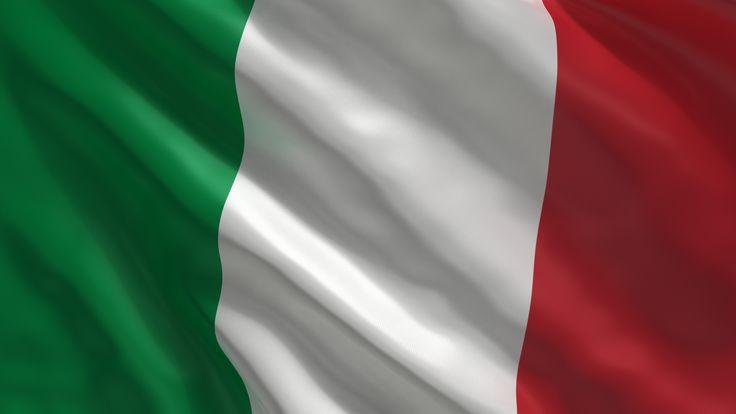 italia, bandera, flag, italy