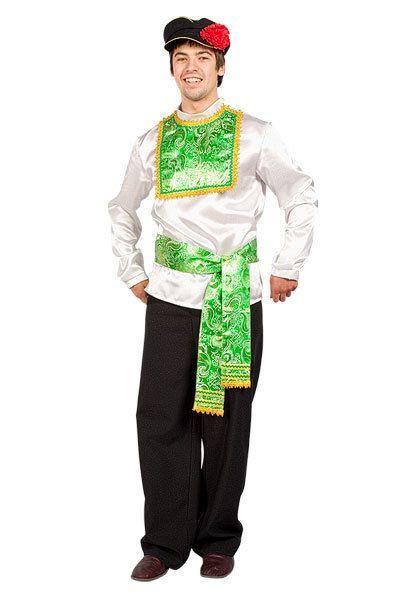 Купить русский народный костюм, модель Иванушка
