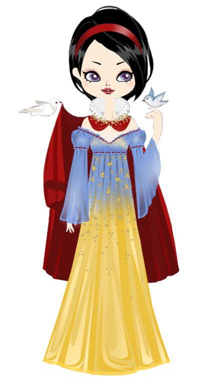 Fashion Snow White by marasop.deviantart.com