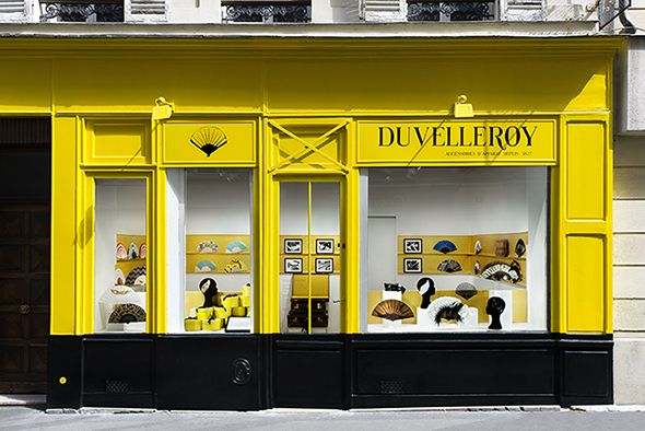 Duvelleroy boutique, 17 rue Amélie in Paris