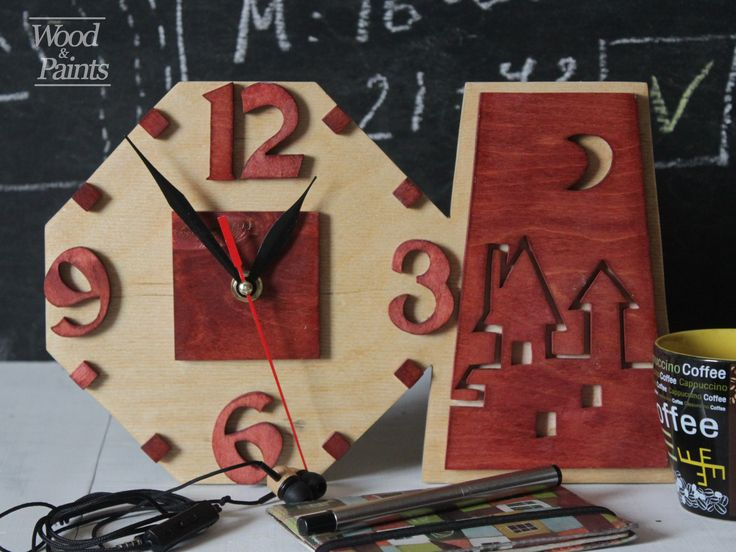 Well, when there is time. Watches are made by hand out of wood. Can be either wall-mounted or desktop. #woodandpaints  #diy #woodworking #handmade