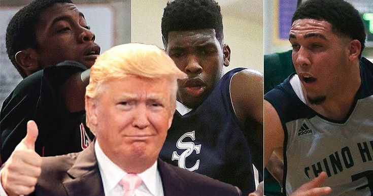 Trump Brings UCLA Basketball Players Home From China #basketballfacts