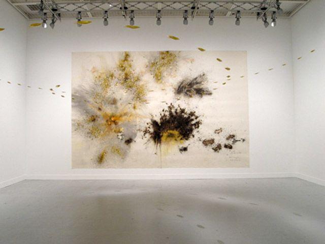 Cia Guo Zhiang's gunpowder art