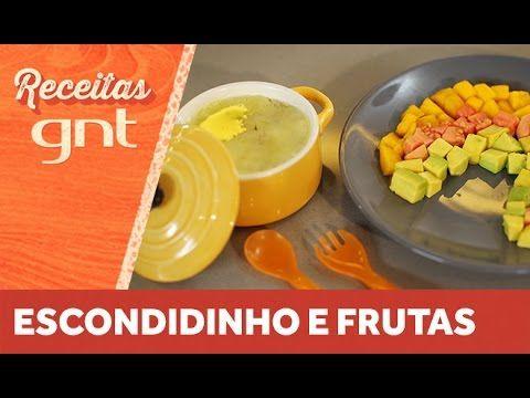 Receita de escondidinho de carne moída e arco íris de frutas | Anna Elis...