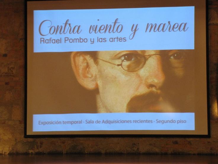 Pombo en el Museo de todos los colombianos @museonacionalco   Crédito Miltón Ramírez /MinCultura 2012