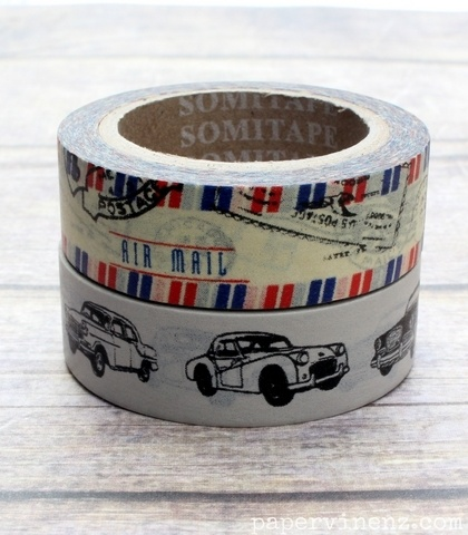 Washi Tape - Vintage Travel Duo, $5.95 by PaperVine
