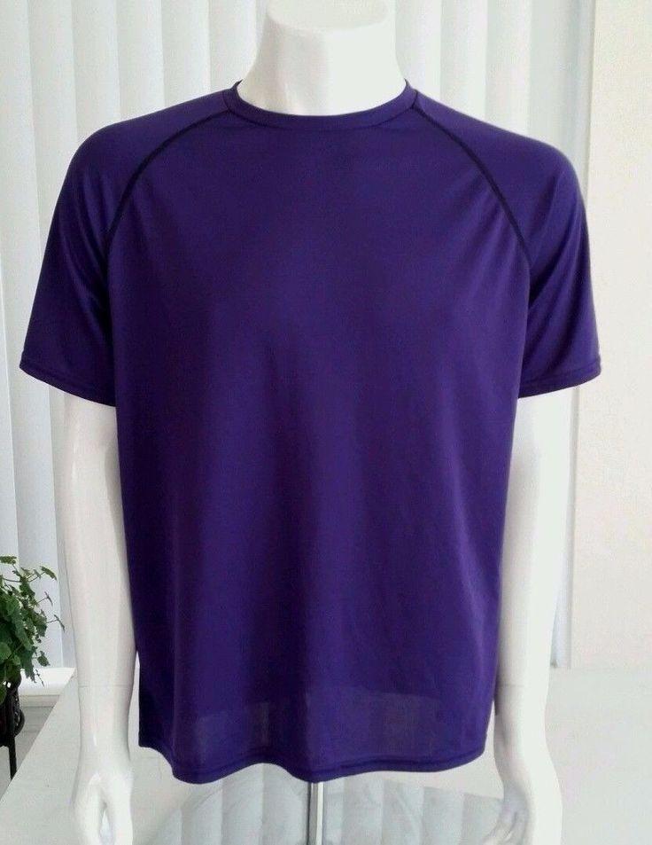X PBX PRO MEN WORKOUT SHIRT M purple 100 % polyester. 305