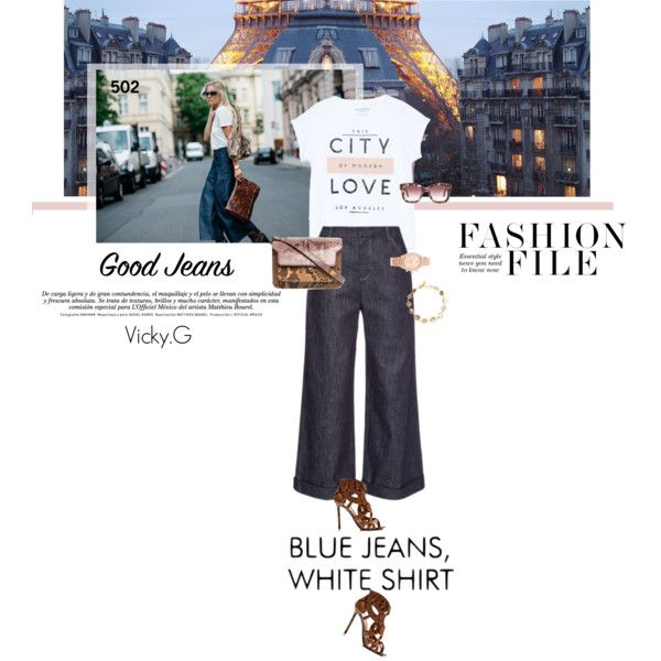 Set # 502 / Get the Look: High-Waisted Jeans by vassiliki-g on Polyvore featuring MANGO, Derek Lam, Nicholas Kirkwood, Marni, Michael Kors, Pippa Small, STELLA McCARTNEY, StreetStyle, CasualChic and highwaistedjeans