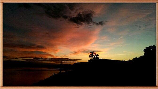 Sunset Richmond River Ballina N.S.W