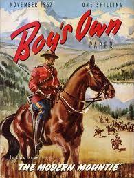 "The ""Modern"" Mountie!!! Boys own #Vintage #books www.newpublisherhouse.com"