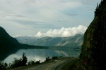 Muncho Lake Provincial Park, Canada.  Along the Alaska Highway