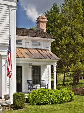 Greek Revival Home traditional porch